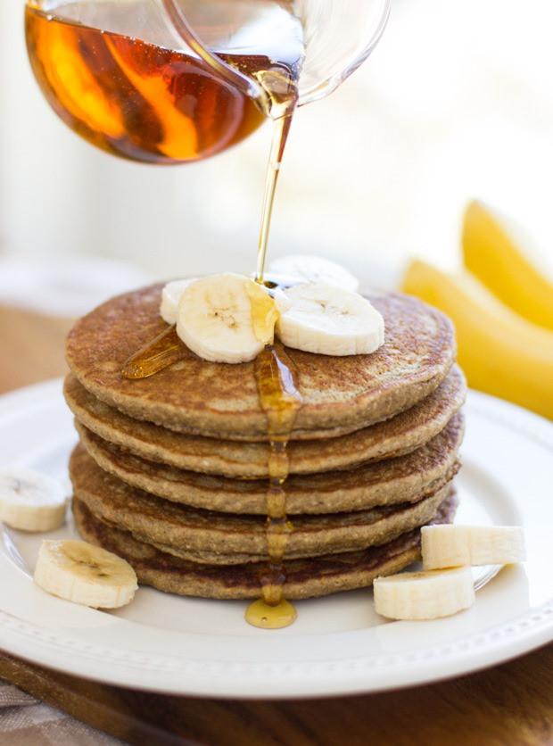 Healthy Oatmeal Banana Pancakes  Banana Oatmeal Pancakes Making Thyme for Health