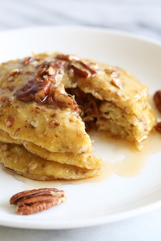 Healthy Oatmeal Banana Pancakes  healthy oatmeal banana pancakes
