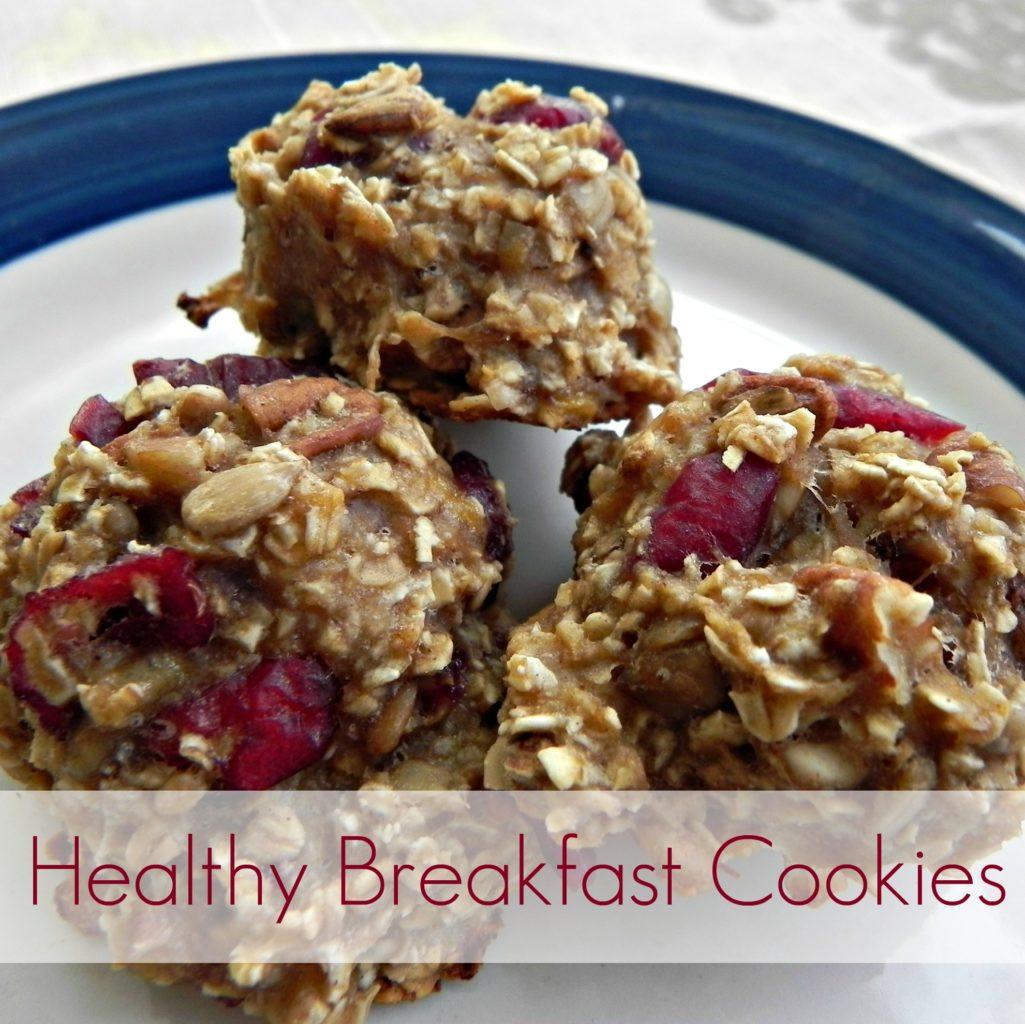 Healthy Oatmeal Breakfast  Healthy Breakfast Cookies Mad in Crafts