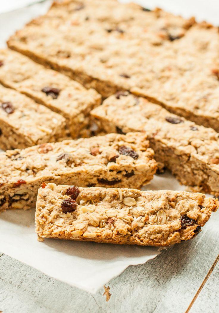 Healthy Oatmeal Breakfast Bars Recipe Easy  Oatmeal Breakfast Bars Recipe