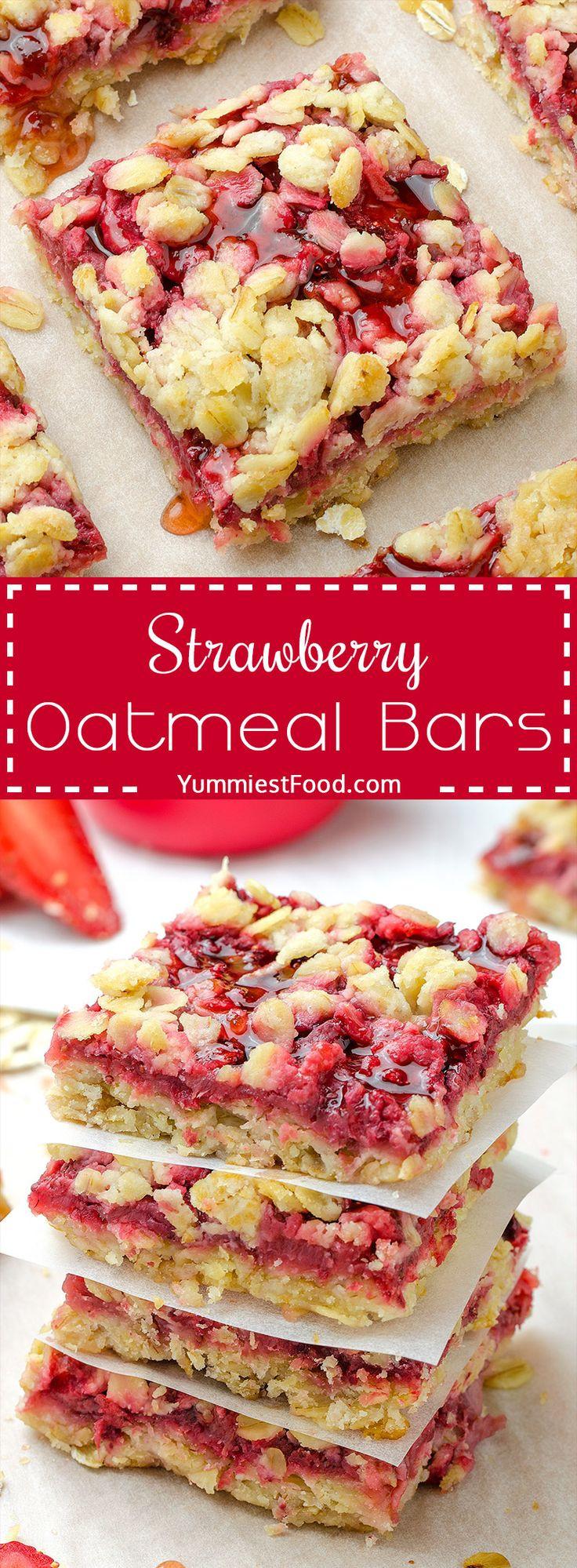 Healthy Oatmeal Breakfast Bars Recipe Easy  25 best Breakfast Ideas on Pinterest