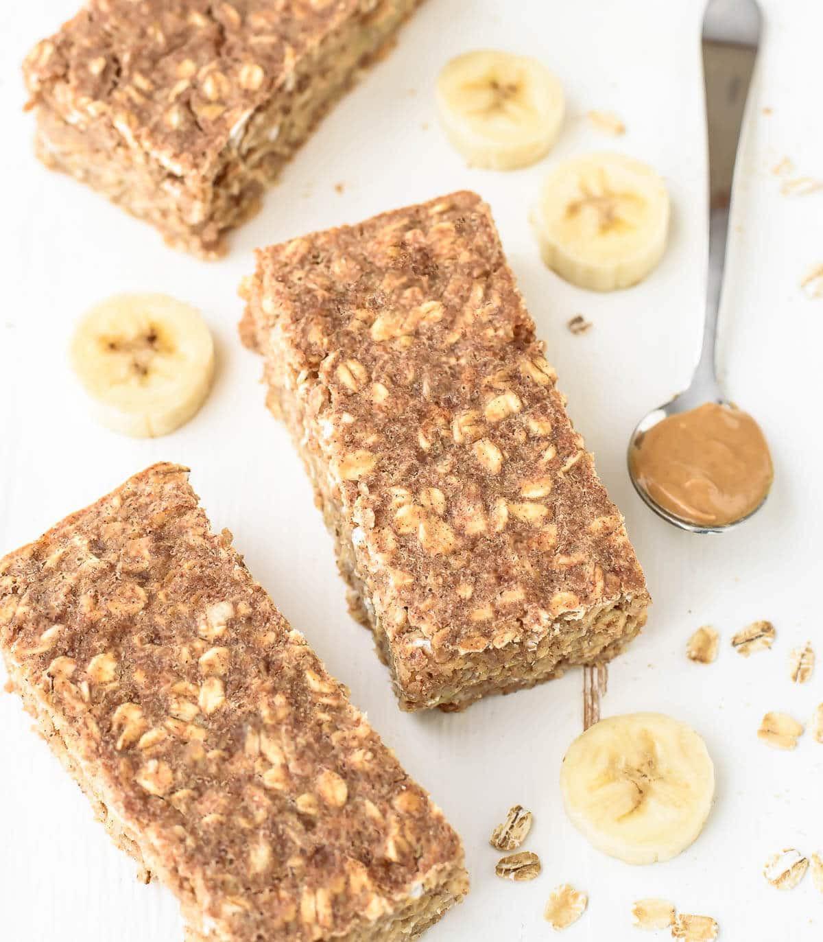 Healthy Oatmeal Breakfast Bars Recipe Easy  Oatmeal Breakfast Bars