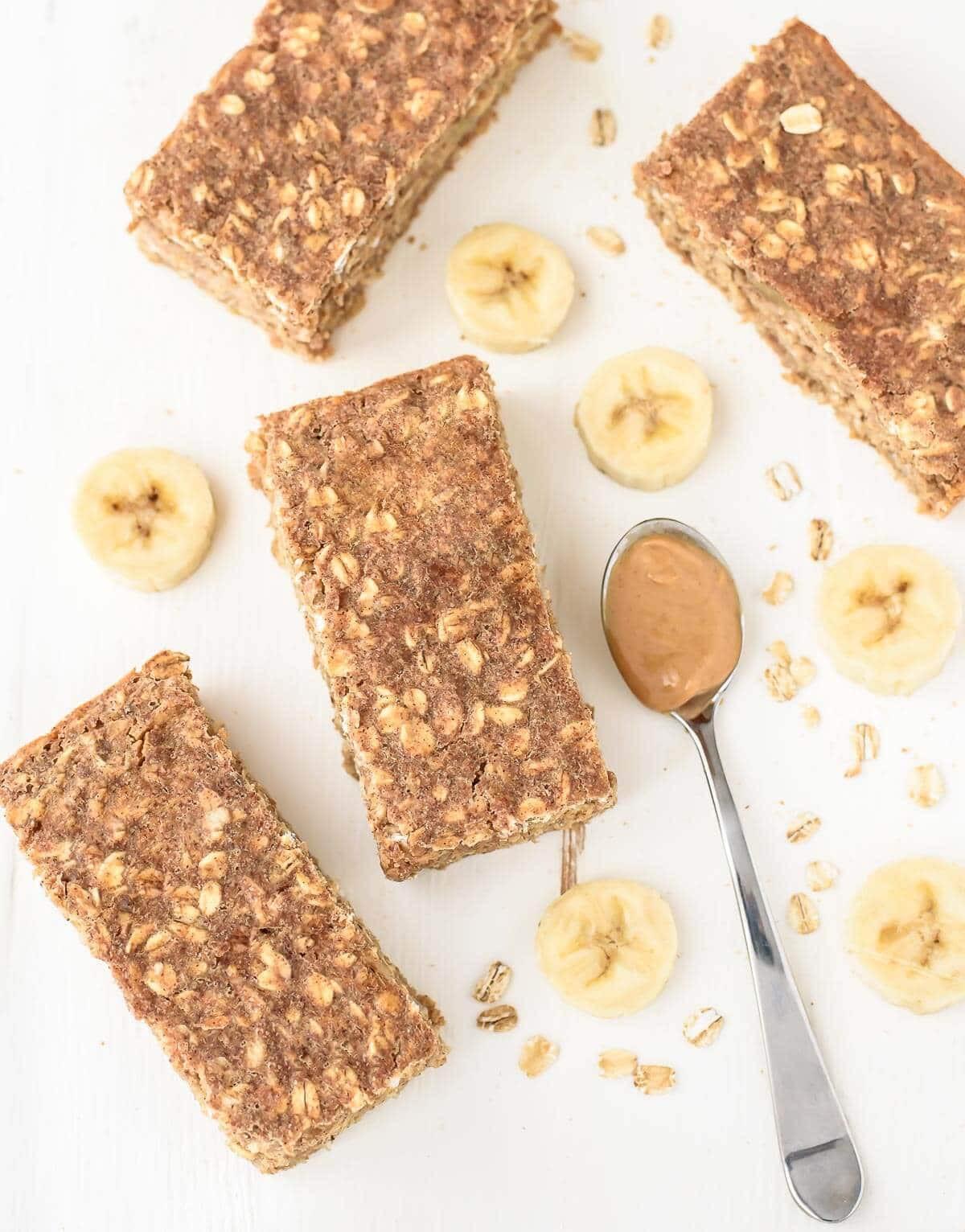 Healthy Oatmeal Breakfast Bars Recipe Easy  easy healthy oatmeal bars