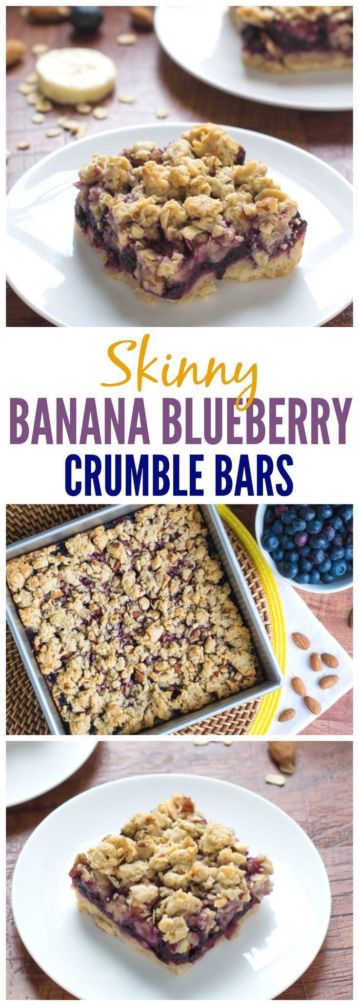 Healthy Oatmeal Breakfast Bars Recipe Easy  25 best ideas about Blueberry Oatmeal Bars on Pinterest