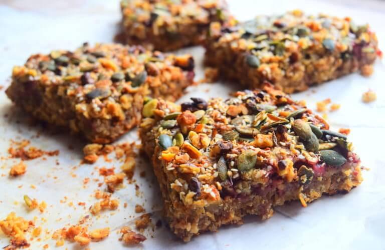 Healthy Oatmeal Breakfast Bars Recipe Easy  Healthy Oatmeal Breakfast Bars Recipe