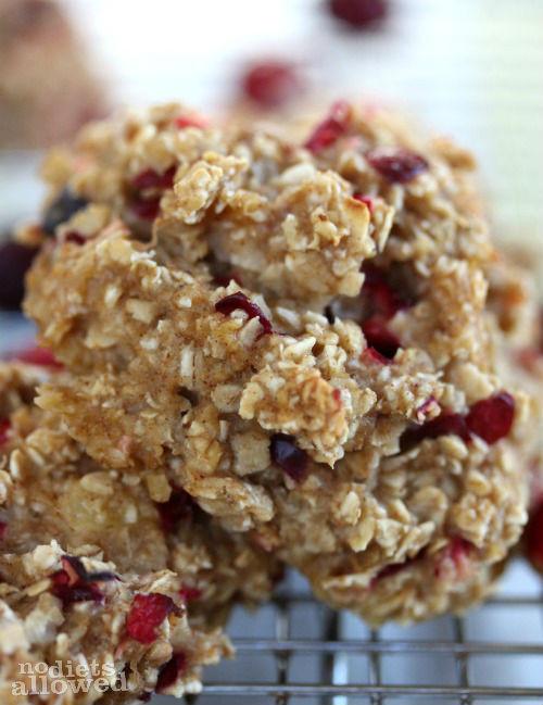 Healthy Oatmeal Breakfast Cookies  Healthy Oatmeal Breakfast Cookies No Diets Allowed