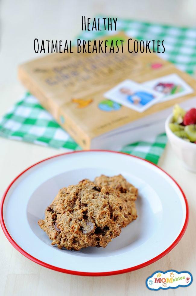 Healthy Oatmeal Breakfast Cookies  Oatmeal Breakfast Cookie Recipe