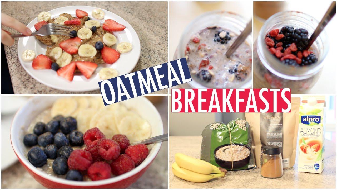 Healthy Oatmeal Breakfast Recipes  healthy oatmeal recipes for breakfast
