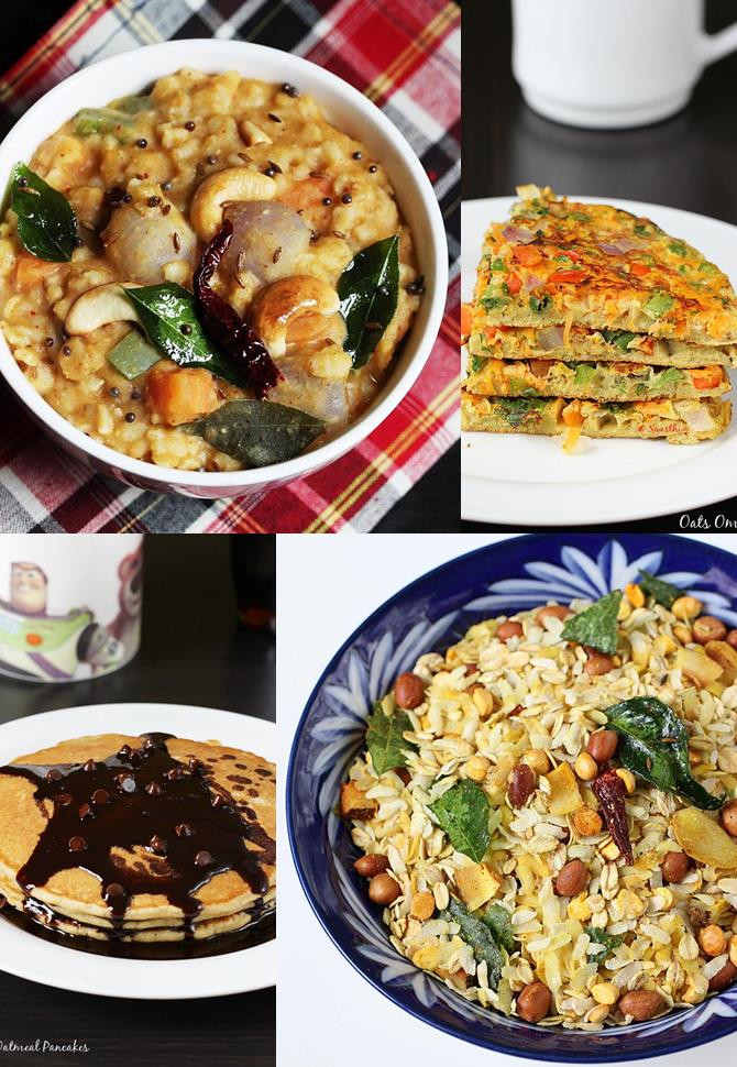 Healthy Oatmeal Breakfast Recipes  Oats Recipes 32 Easy Indian Oats recipes