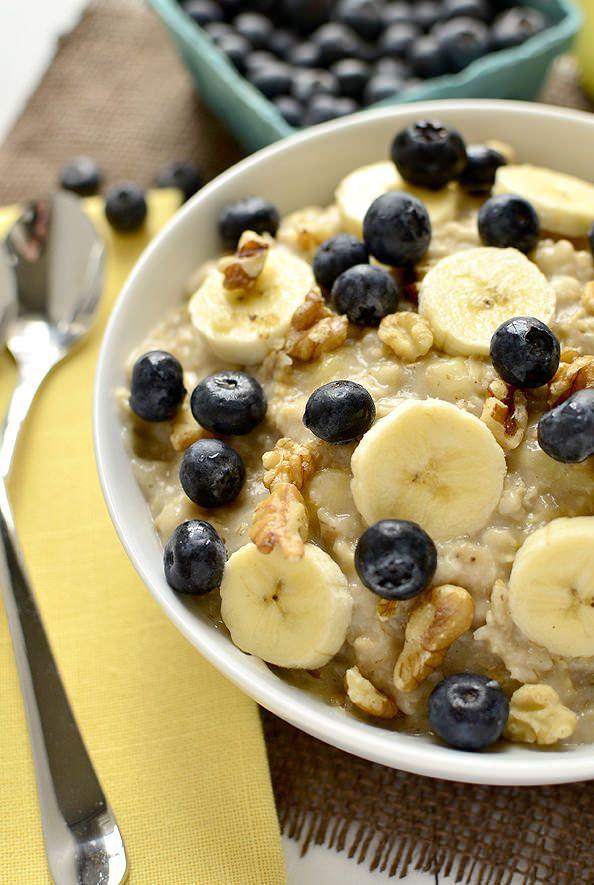 Healthy Oatmeal Breakfast Recipes  25 best ideas about Healthy Oatmeal Breakfast on