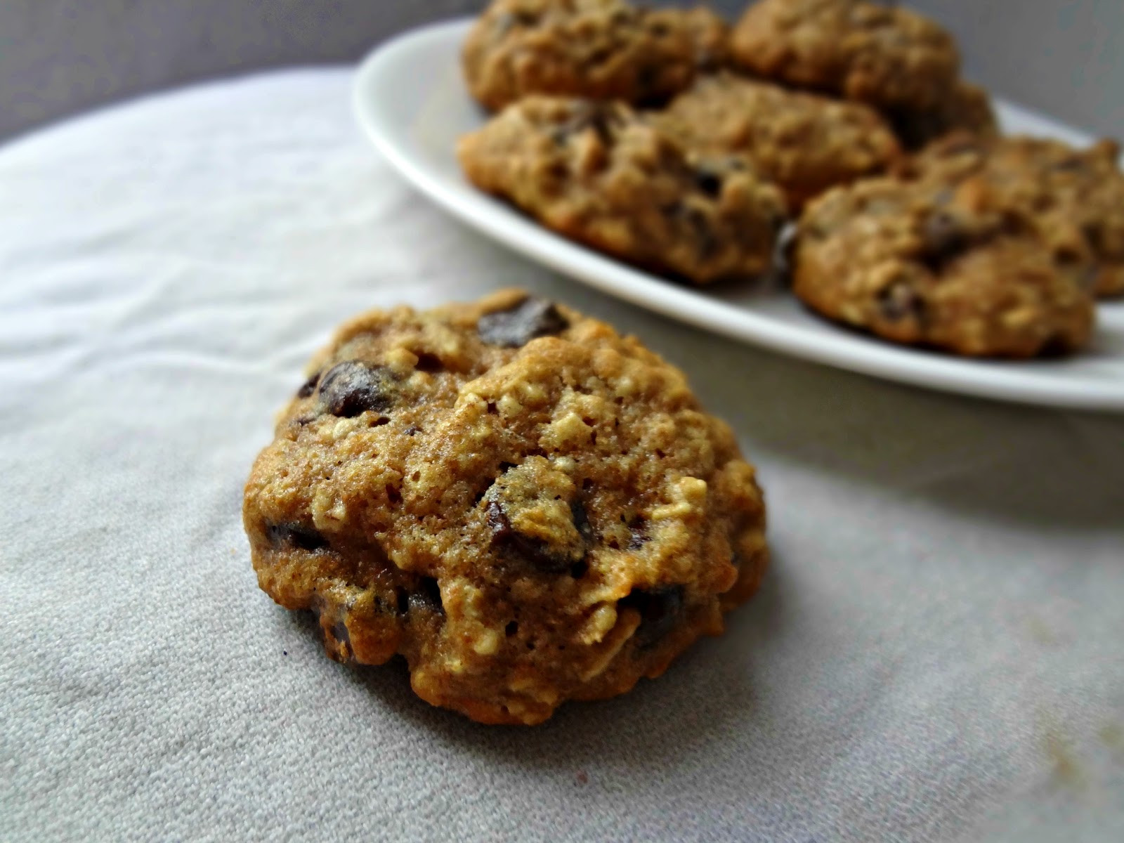 Healthy Oatmeal Choc Chip Cookies  The Cooking Actress Healthy Oatmeal Chocolate Chip Cookies