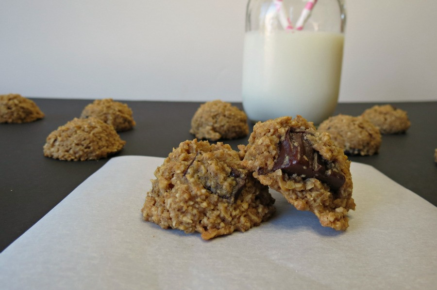 Healthy Oatmeal Chocolate Chip Cookies Applesauce  Healthy Oatmeal Chocolate Chip Cookies