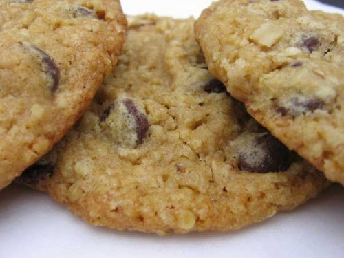 Healthy Oatmeal Chocolate Chip Cookies Applesauce  Applesauce chocolate chip cookie recipes Food cookie recipes
