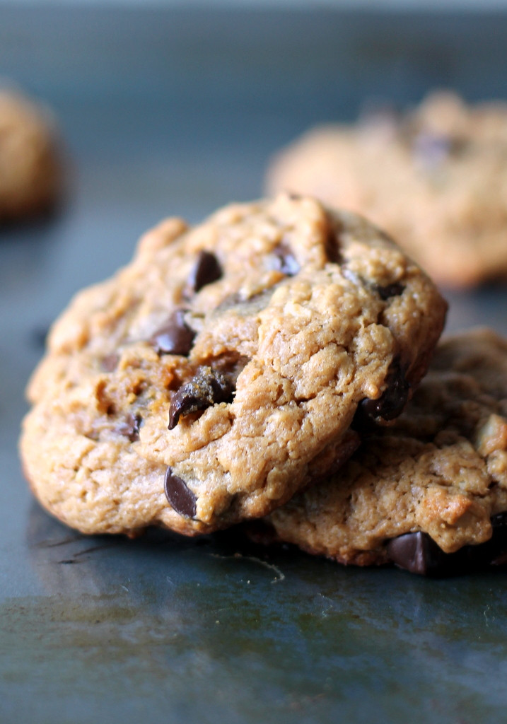 Healthy Oatmeal Chocolate Chip Cookies No Butter  Peanut Butter Oatmeal Chocolate Chip Cookies flourless