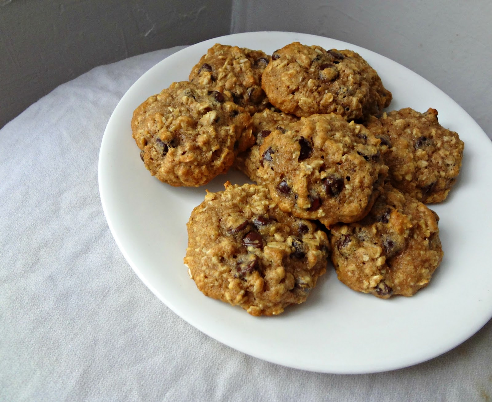 Healthy Oatmeal Chocolate Chip Cookies Recipe  The Cooking Actress Healthy Oatmeal Chocolate Chip Cookies