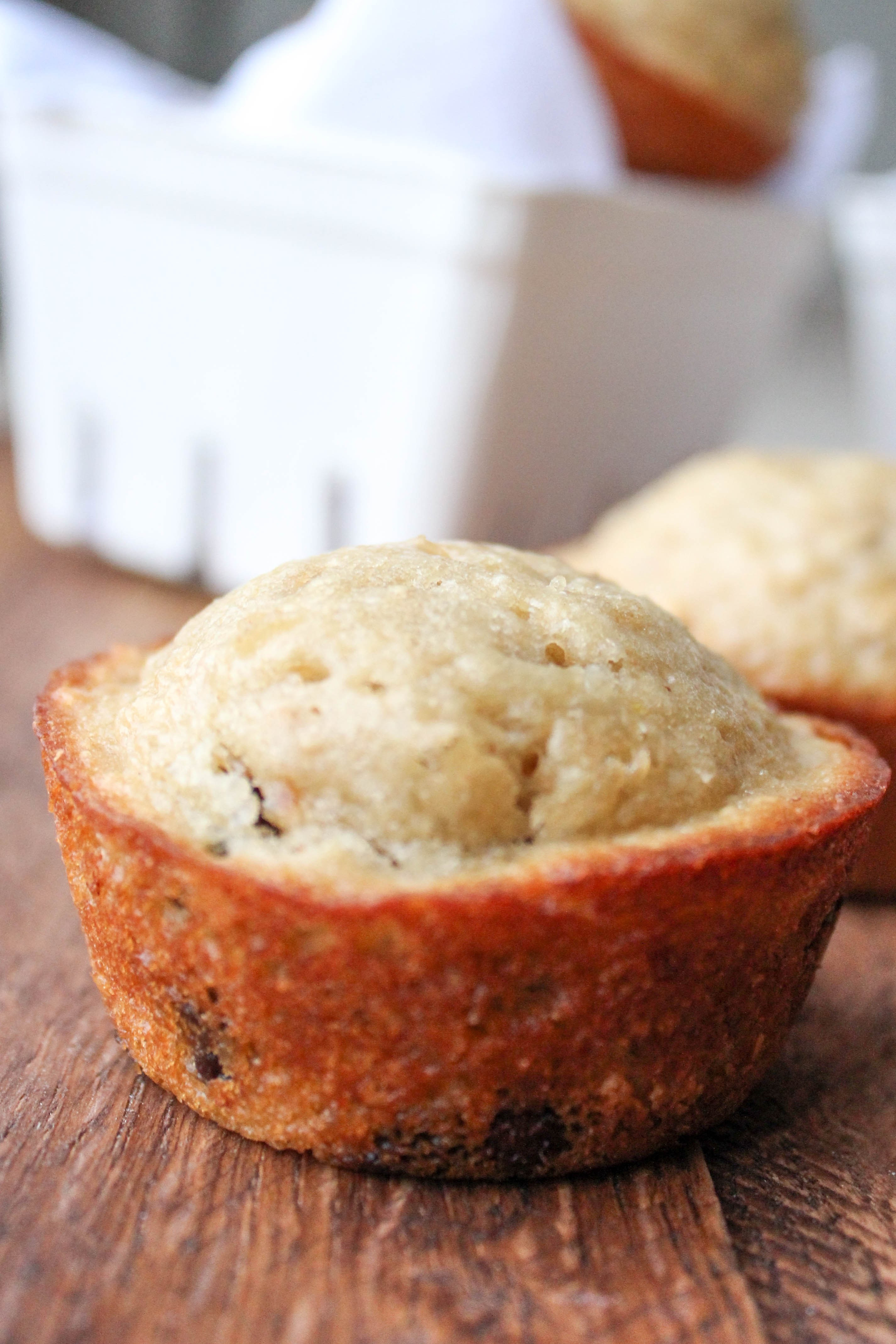 Healthy Oatmeal Chocolate Chip Muffins  Healthy Oatmeal Chocolate Chip Muffins