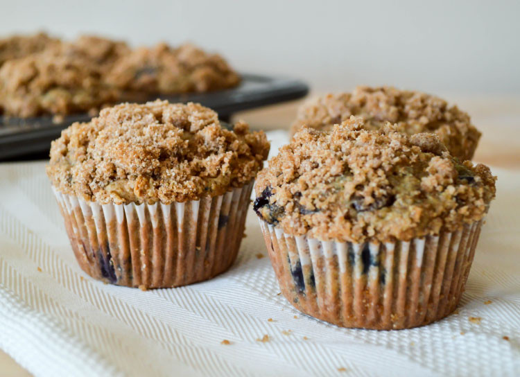 Healthy Oatmeal Chocolate Chip Muffins  Oatmeal Blueberry Chocolate Chip Muffins
