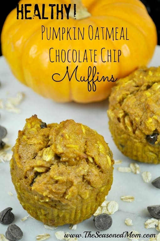 Healthy Oatmeal Chocolate Chip Muffins  Healthy Apple Crisp Yogurt Parfaits The Seasoned Mom