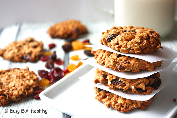 Healthy Oatmeal Cookies  Outrageous Oatmeal Cookies Healthier Starbucks Copycat