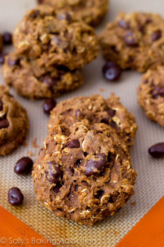 Healthy Oatmeal Cookies Applesauce  healthy oatmeal breakfast cookies applesauce