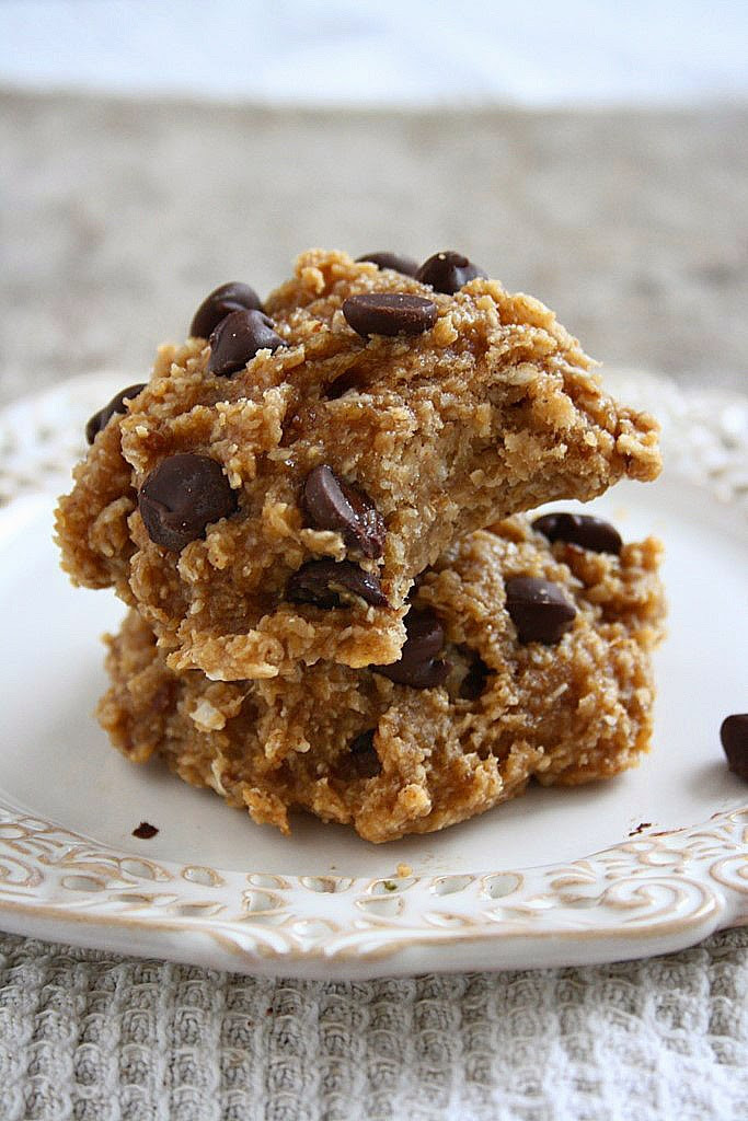 Healthy Oatmeal Cookies No Flour  collecting memories Soft Peanut Butter Banana Oatmeal
