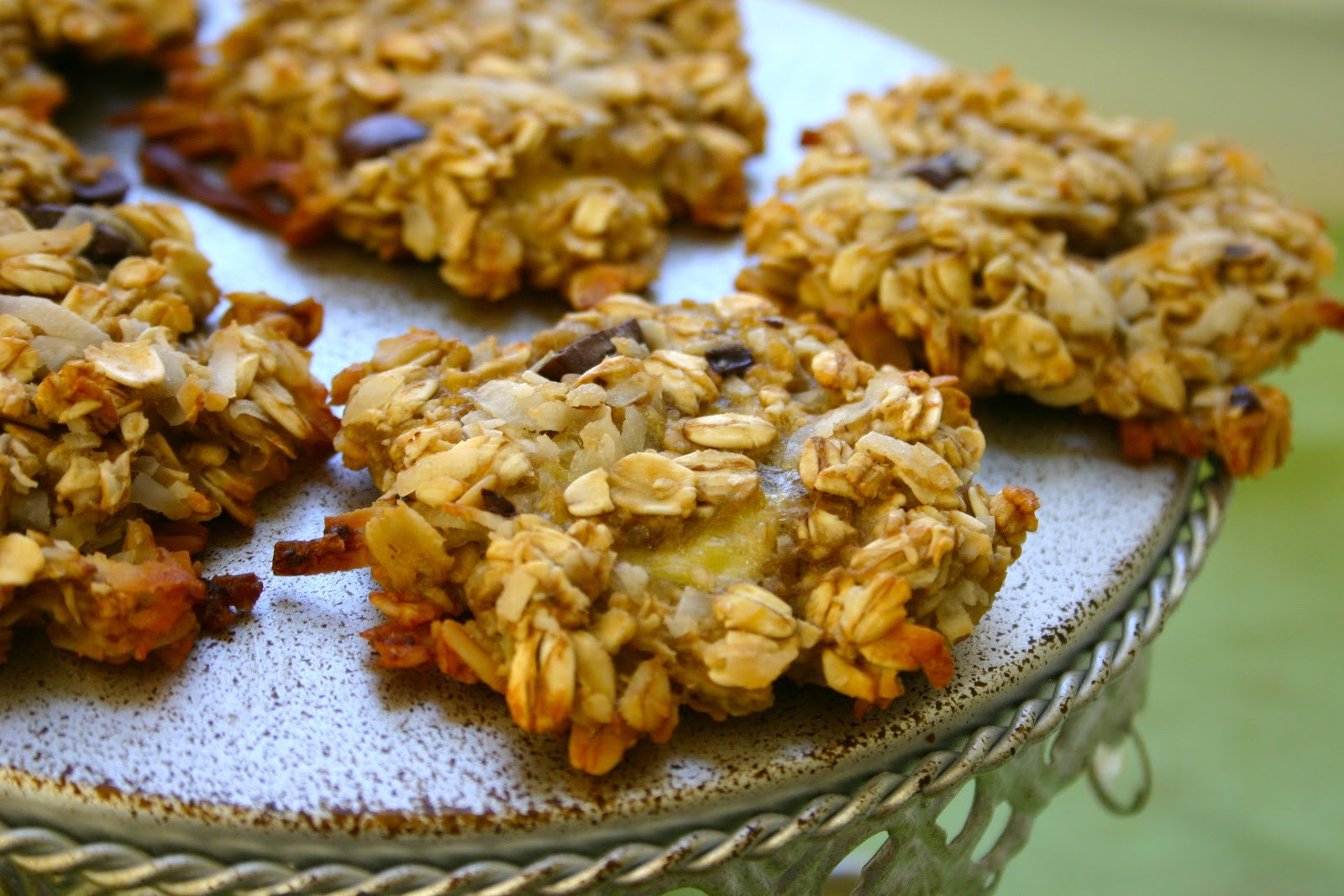 Healthy Oatmeal Cookies No Flour  Banana Oatmeal Cookies No Flour Butter Sugar or Egg