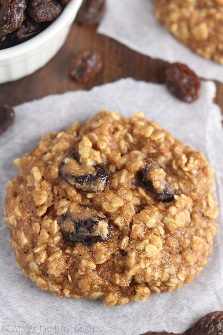 Healthy Oatmeal Cookies  The Ultimate Healthy Soft & Chewy Oatmeal Raisin Cookies