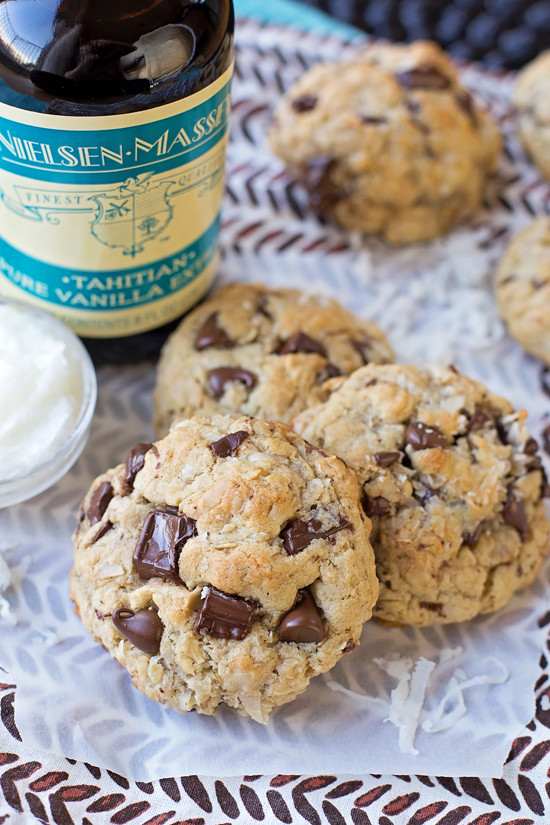 Healthy Oatmeal Cookies With Coconut Oil  Coconut Oil Oatmeal Chocolate Chip Cookies Life Made Simple