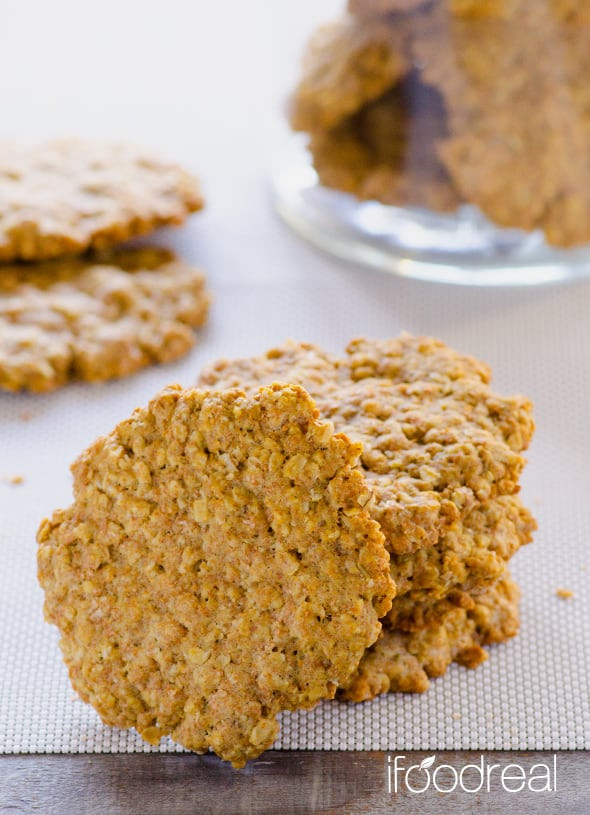 Healthy Oatmeal Cookies With Coconut Oil  Healthy Oatmeal Cookies Recipe iFOODreal Healthy