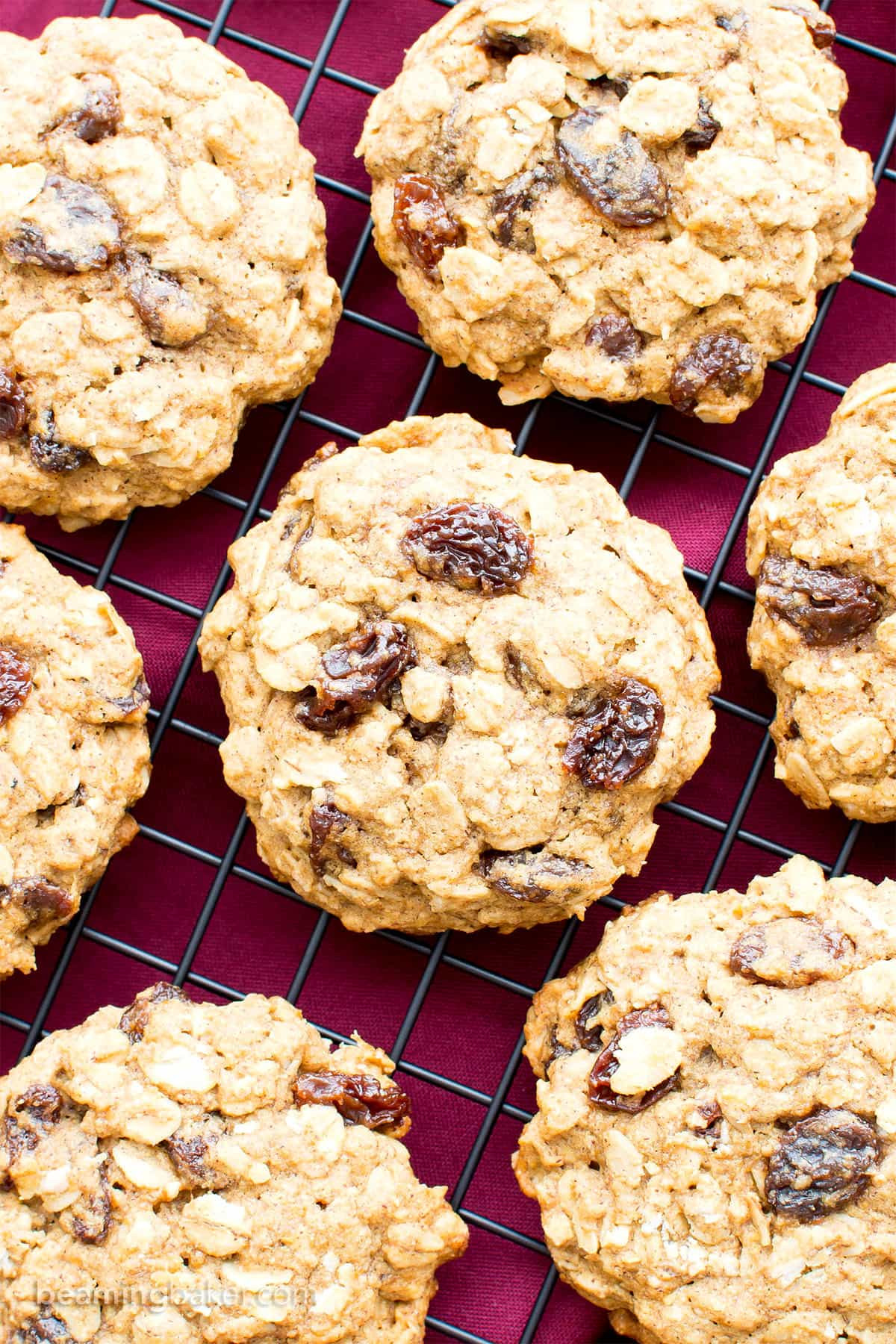 Healthy Oatmeal Cookies With Coconut Oil  vegan oatmeal raisin cookies with coconut oil
