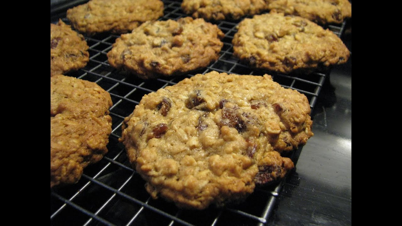 Healthy Oatmeal Cookies Without Sugar  oatmeal raisin cookies without brown sugar