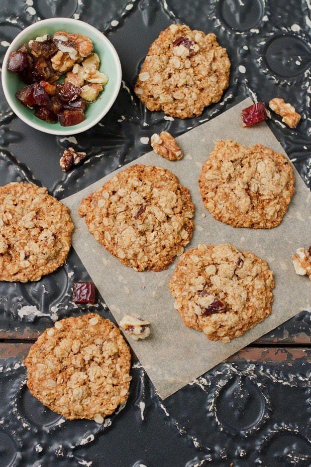 Healthy Oatmeal Date Cookies  Oatmeal Date Cookies vegan gf
