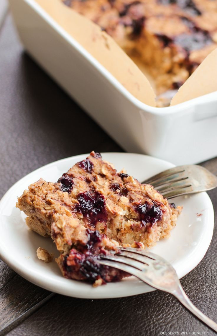 Healthy Oatmeal Desserts  1000 images about Peanut Butter on Pinterest