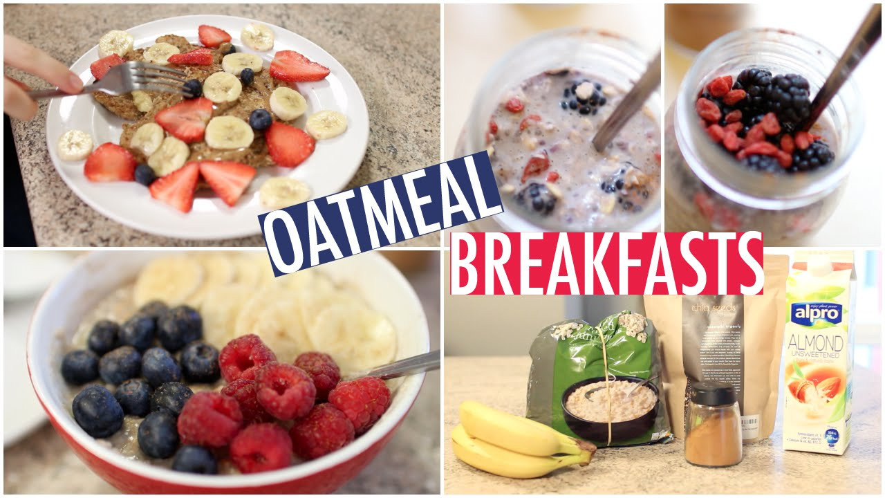 Healthy Oatmeal Ideas For Breakfast  Quick & Healthy Oatmeal Breakfast Ideas