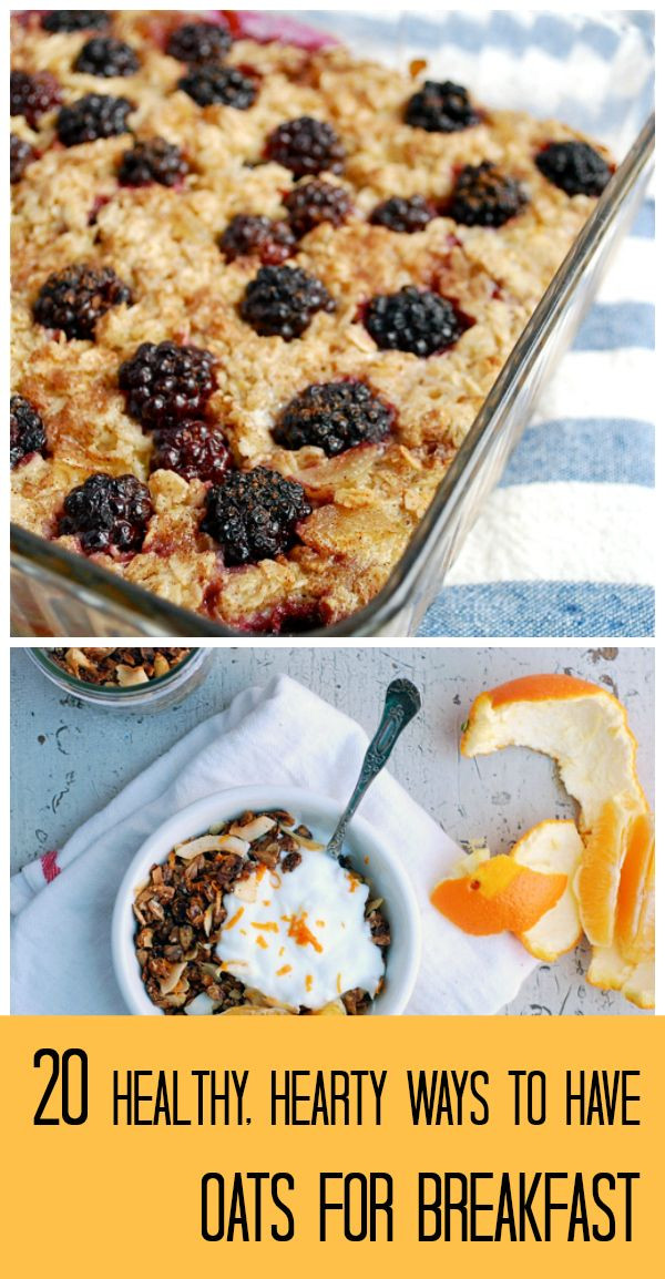 Healthy Oatmeal Ideas For Breakfast  20 Healthy Breakfast Recipes Featuring Fruit and Oats