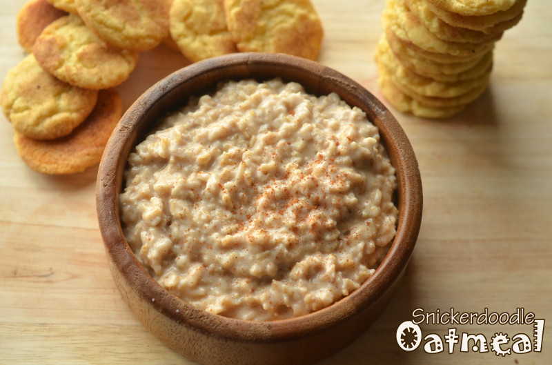 Healthy Oatmeal Ideas For Breakfast  Snickerdoodle Oatmeal Breakfast