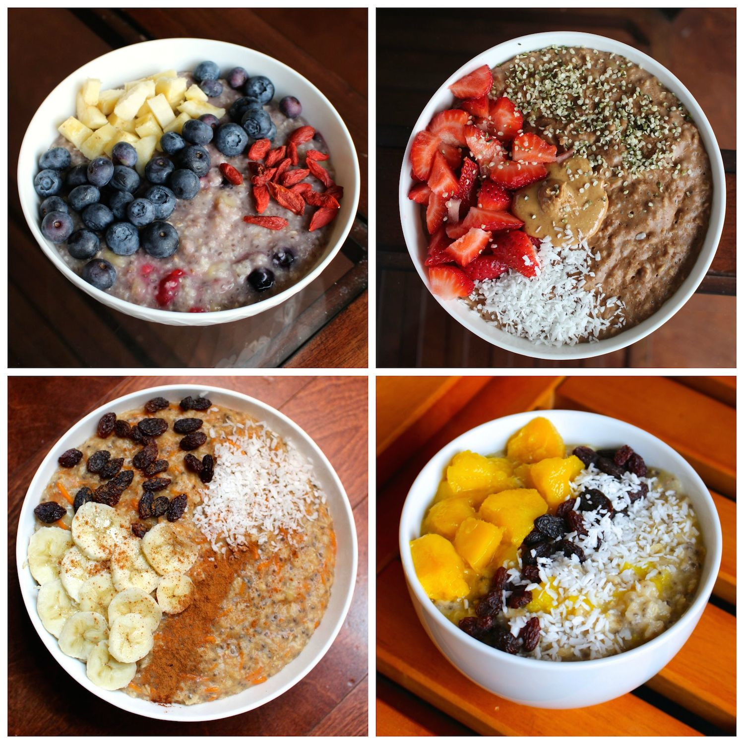 Healthy Oatmeal Ideas For Breakfast  Easy Plant Based Breakfast Ideas