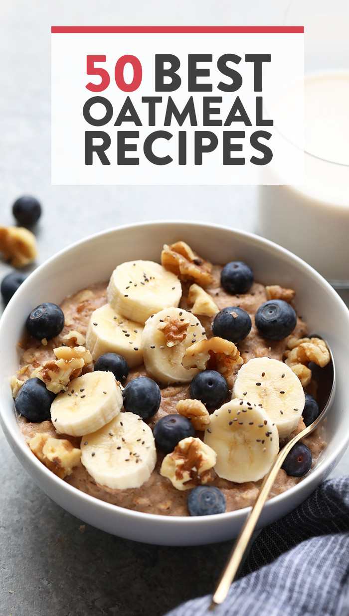 Healthy Oatmeal Ideas For Breakfast  healthy oatmeal recipes for breakfast