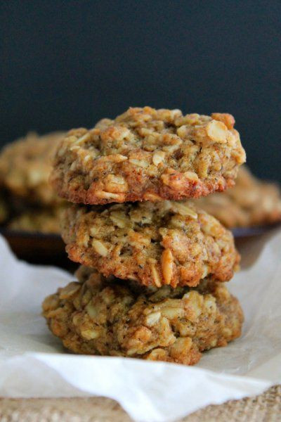 Healthy Oatmeal Molasses Cookies  Oatmeal Cookies and Chia seeds on Pinterest