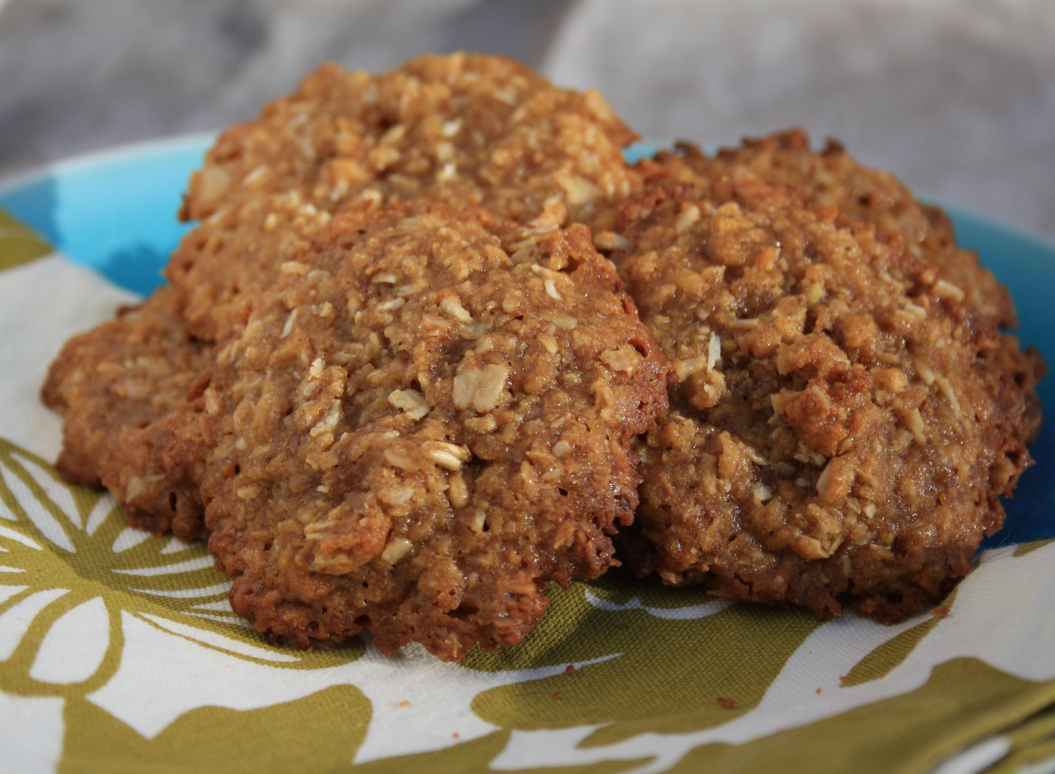 Healthy Oatmeal Molasses Cookies  Chewy and crispy coconut oatmeal cookies Grandma Molasses