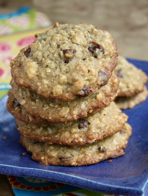 Healthy Oatmeal Molasses Cookies  Cape Cod Oatmeal Chocolate Chip Cookies with a Healthy