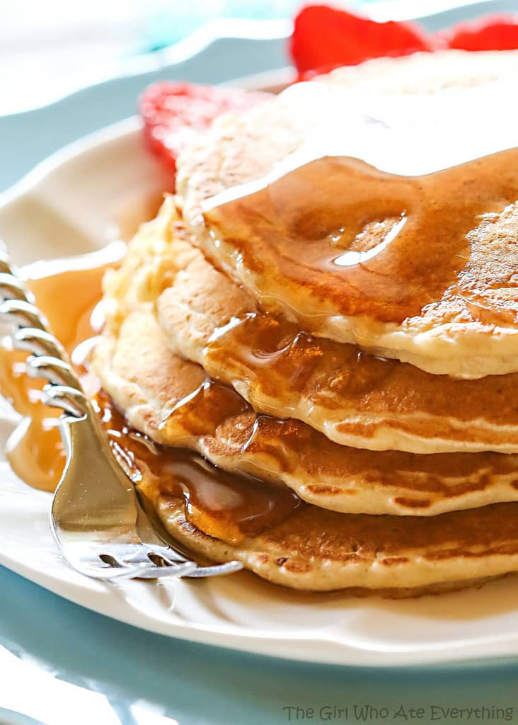 Healthy Oatmeal Pancakes Best 20 Healthy Oatmeal Pancakes the Girl who ate Everything