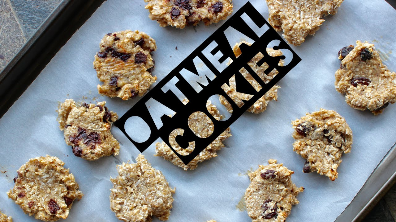 Healthy Oatmeal Raisin Chocolate Chip Cookies  Healthy Oatmeal Cookie Recipe