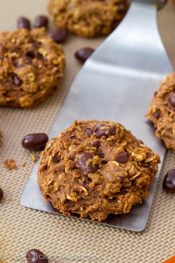 Healthy Oatmeal Raisin Chocolate Chip Cookies  Healthy Oatmeal Raisinet Cookies Sallys Baking Addiction
