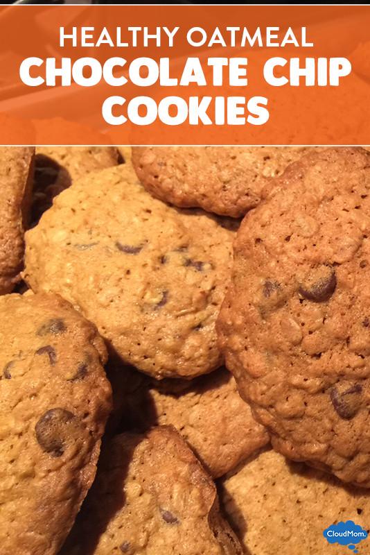 Healthy Oatmeal Raisin Chocolate Chip Cookies  Organic Oatmeal Chocolate Chip Cookies