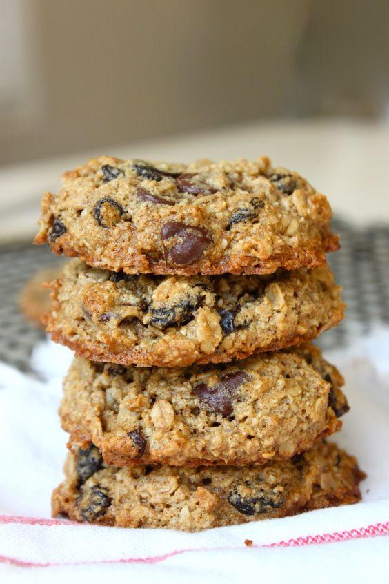 Healthy Oatmeal Raisin Chocolate Chip Cookies  Pinterest • The world's catalog of ideas