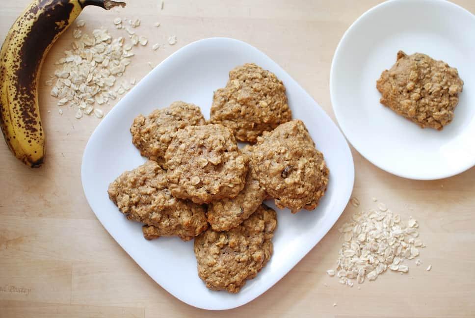 Healthy Oatmeal Raisin Cookies Applesauce  Healthy Oatmeal Raisin Cookies Snacking in Sneakers