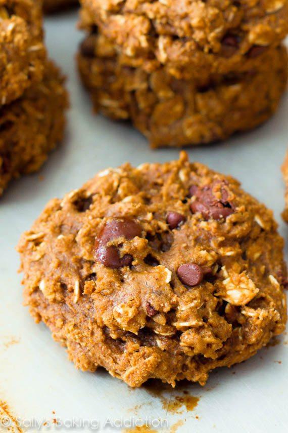 Healthy Oatmeal Raisin Cookies Applesauce  Healthy Oatmeal Raisinet Cookies Sallys Baking Addiction