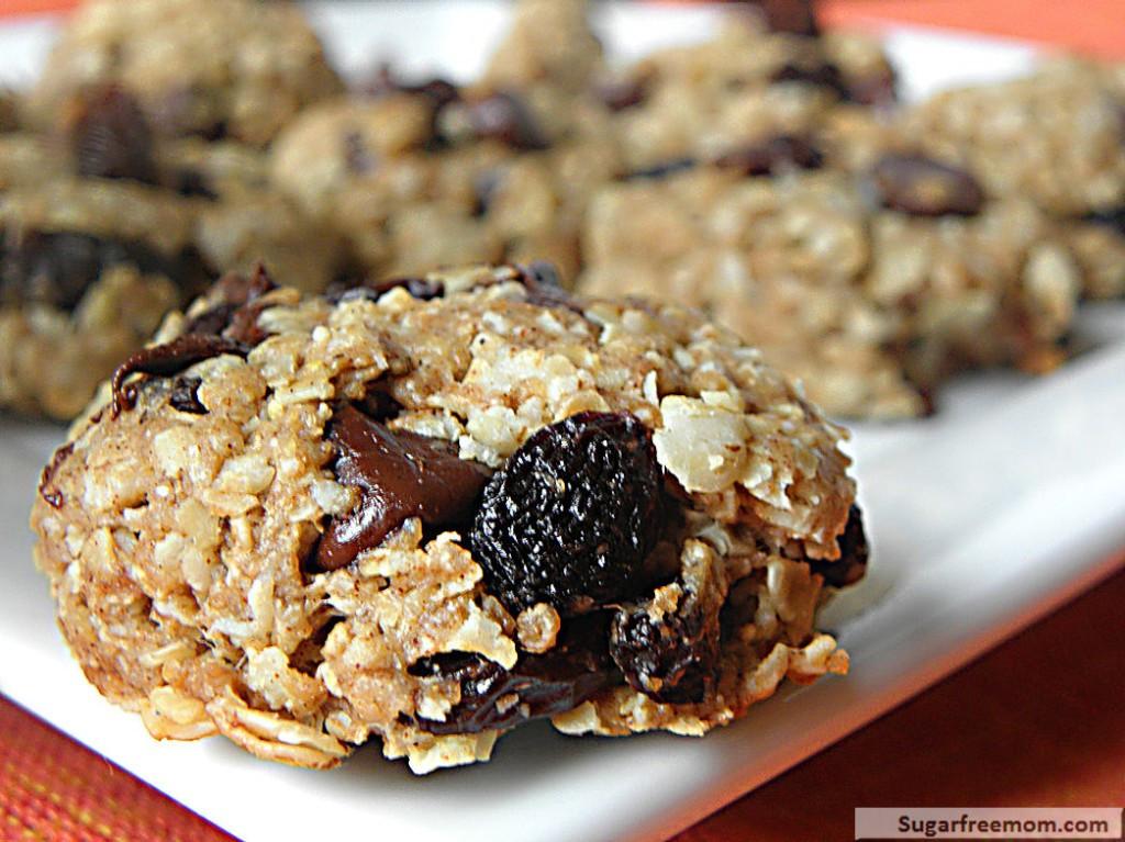 Healthy Oatmeal Raisin Cookies  Healthy Oatmeal Raisin Cookies No Sugar Added