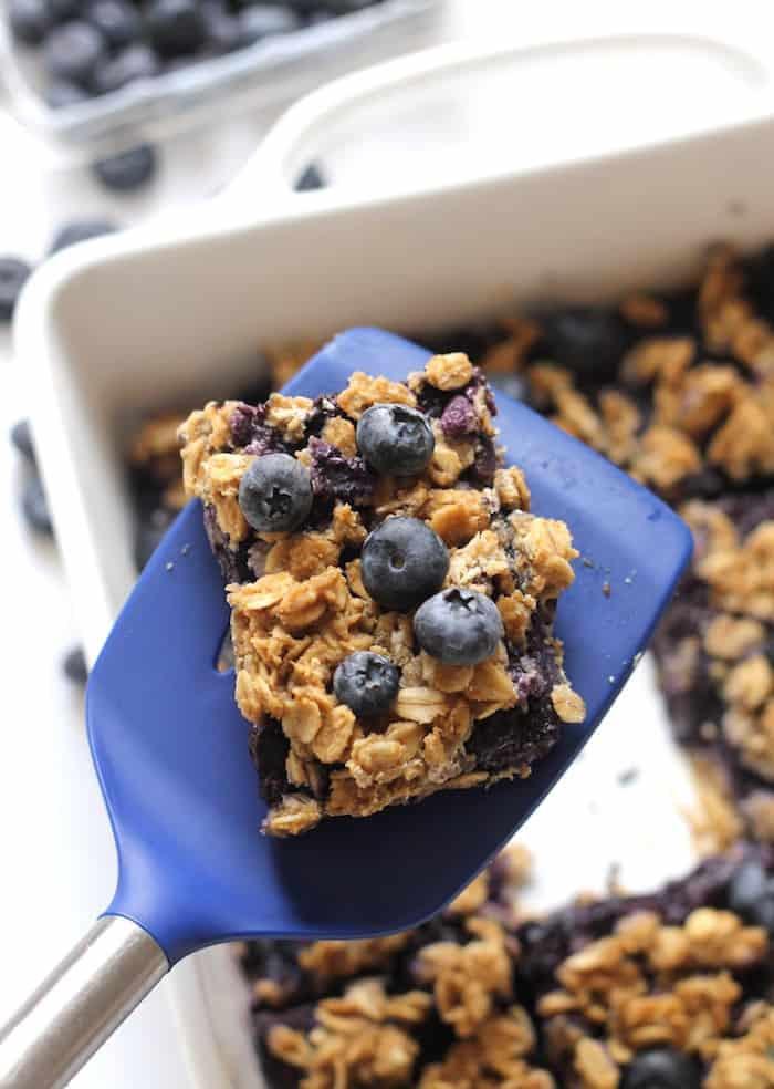 Healthy Oatmeal Snacks  Healthy Blueberry Oatmeal Snack Bars